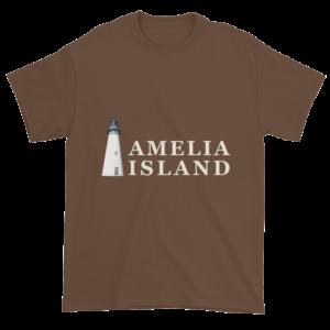 Amelia's Iconic Lighthouse Ultra Cotton T-Shirt Chestnut