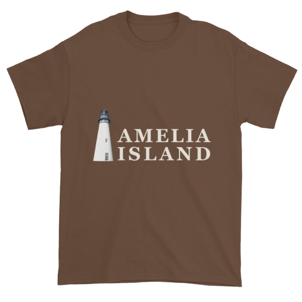 Amelia's Iconic Lighthouse Ultra Cotton T-Shirt Chestnut