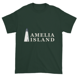 Amelia's Iconic Lighthouse Ultra Cotton T-Shirt Forest