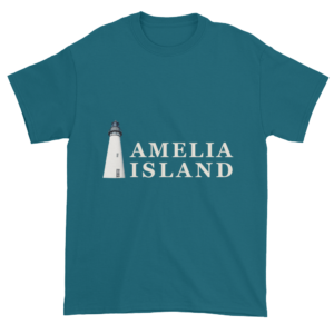 Amelia's Iconic Lighthouse Ultra Cotton T-Shirt Galapagos-Blue