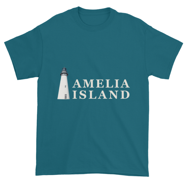 Amelia's Iconic Lighthouse Ultra Cotton T-Shirt Galapagos-Blue