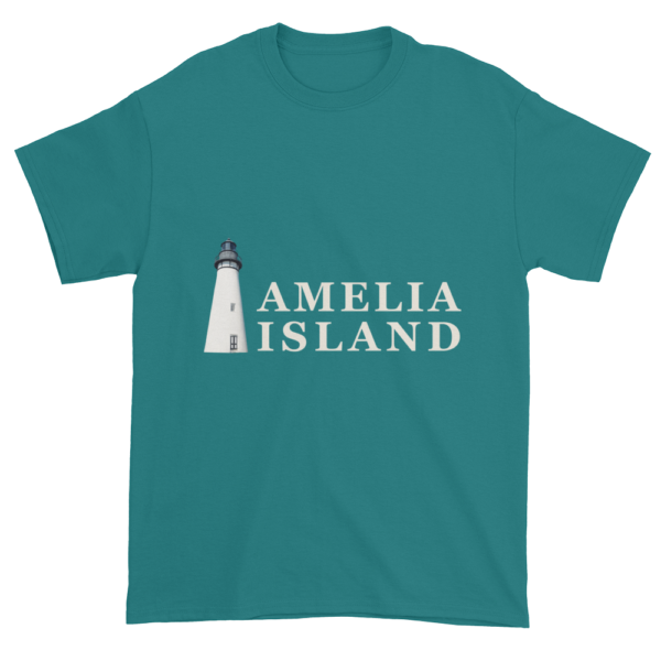 Amelia's Iconic Lighthouse Ultra Cotton T-Shirt Jade-Dome