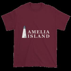 Amelia's Iconic Lighthouse Ultra Cotton T-Shirt Maroon