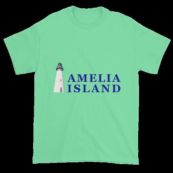 Amelia's Iconic Lighthouse Ultra Cotton T-Shirt Mint-Green