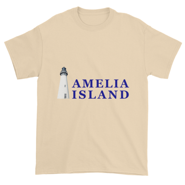Amelia's Iconic Lighthouse Ultra Cotton T-Shirt Natural
