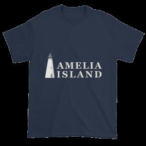 Amelia's Iconic Lighthouse Ultra Cotton T-Shirt Navy