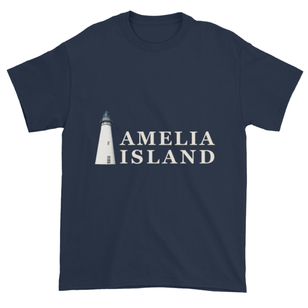 Amelia's Iconic Lighthouse Ultra Cotton T-Shirt Navy