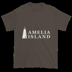 Amelia's Iconic Lighthouse Ultra Cotton T-Shirt Olive