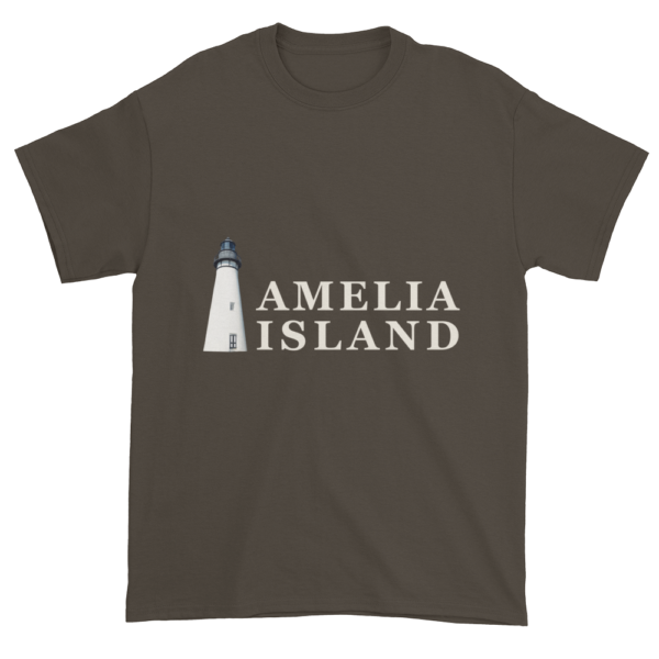 Amelia's Iconic Lighthouse Ultra Cotton T-Shirt Olive