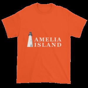 Amelia's Iconic Lighthouse Ultra Cotton T-Shirt Orange