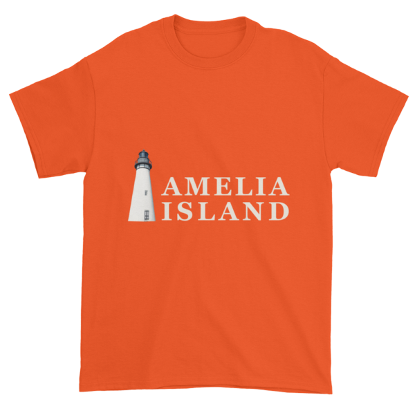 Amelia's Iconic Lighthouse Ultra Cotton T-Shirt Orange