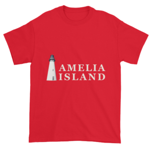 Amelia's Iconic Lighthouse Ultra Cotton T-Shirt Red