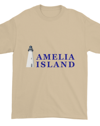 Amelia's Iconic Lighthouse Ultra Cotton T-Shirt Sand