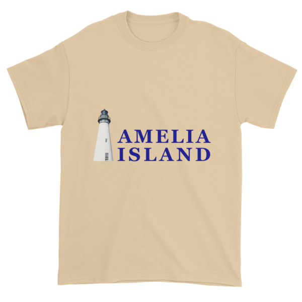 Amelia's Iconic Lighthouse Ultra Cotton T-Shirt Tan