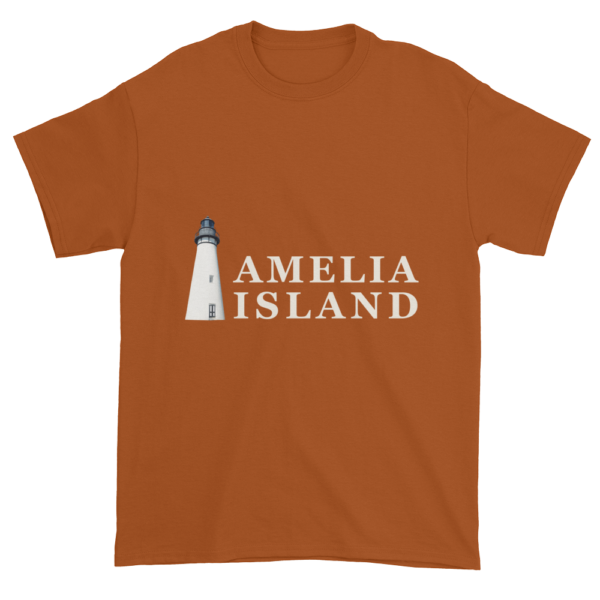 Amelia's Iconic Lighthouse Ultra Cotton T-Shirt Texas-Orange