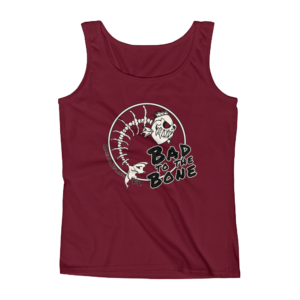 Bad to the Bone Missy Fit Tank-Top Front_Independence-Red