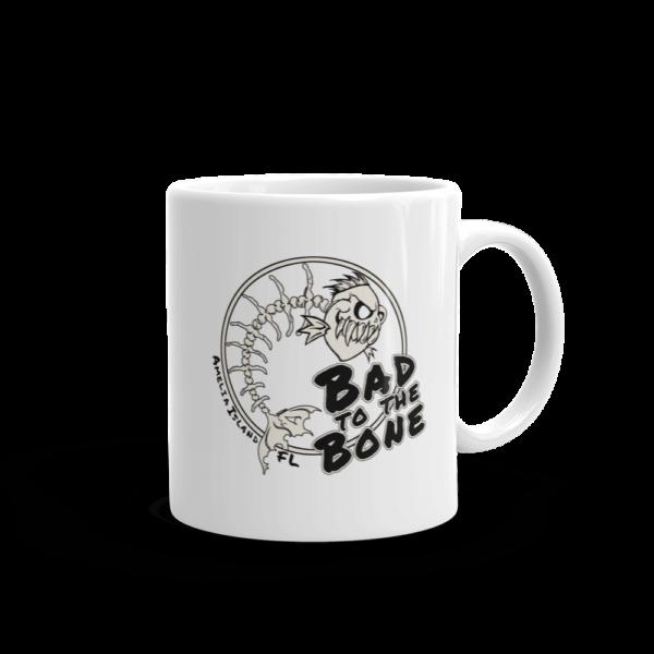 Bad to the Bone Mug Handle-on-Right 11oz
