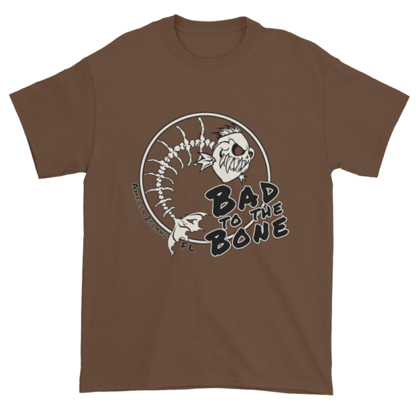 Bad to the Bone Ultra Cotton T-Shirt Chestnut
