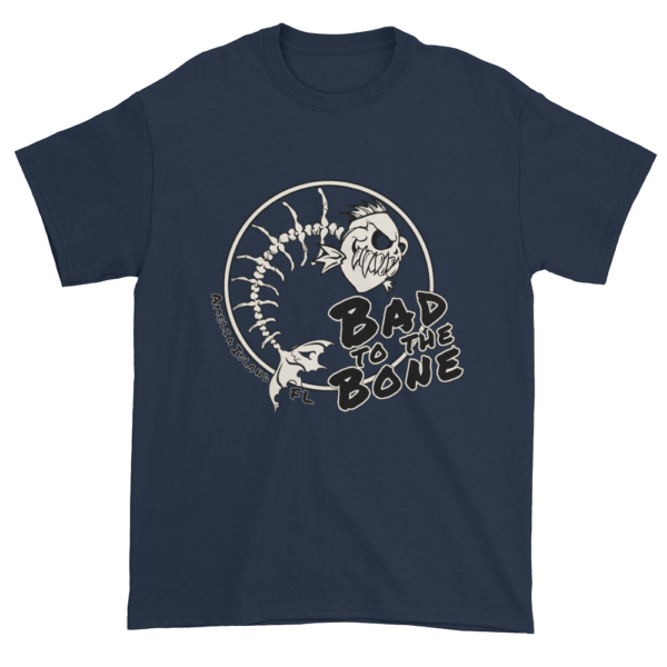 Bad to the Bone Ultra Cotton T-Shirt Navy