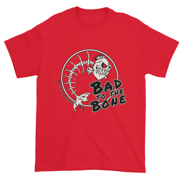 Bad to the Bone Ultra Cotton T-Shirt Red