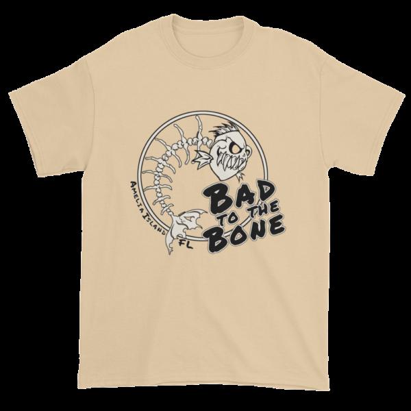 Bad to the Bone Ultra Cotton T-Shirt Tan