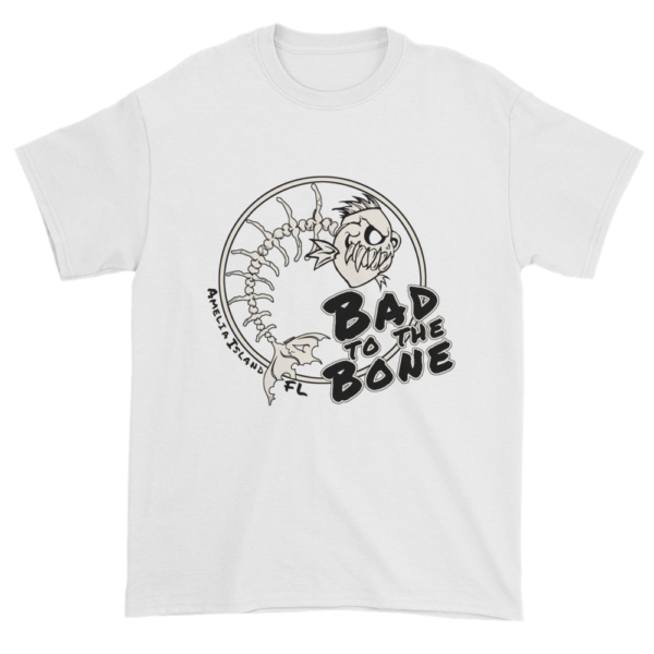 Bad to the Bone Ultra Cotton T-Shirt White