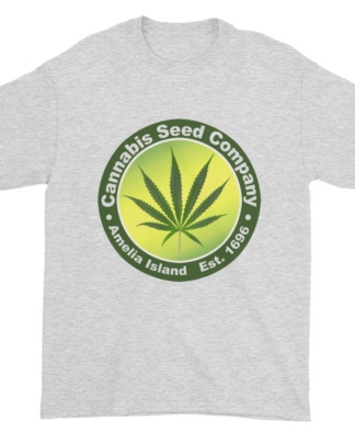 Cannabis Seed Company Cotton T-Shirt Ash