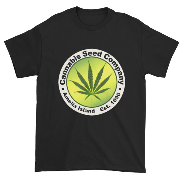 Cannabis Seed Company Cotton T-Shirt Black
