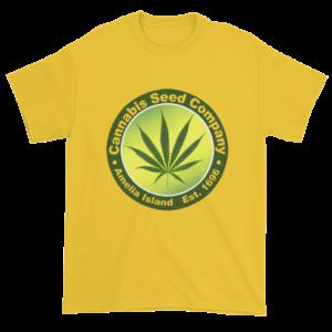 Cannabis Seed Company Cotton T-Shirt Daisy