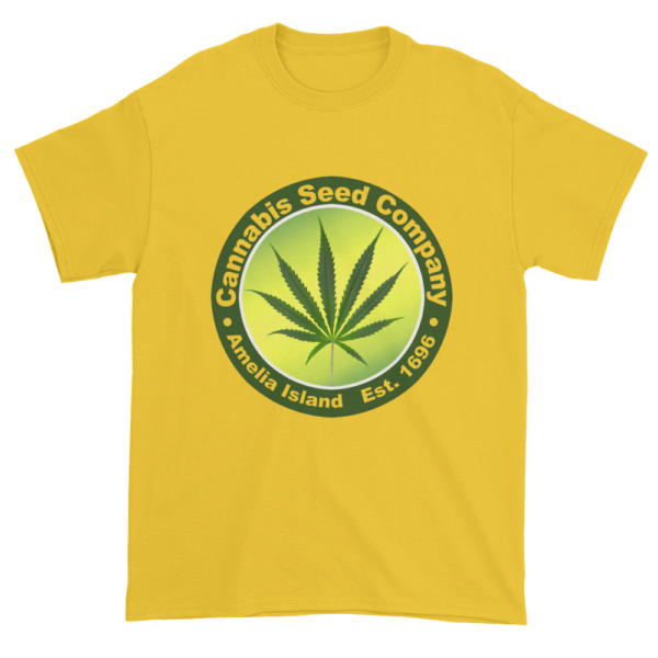 Cannabis Seed Company Cotton T-Shirt Daisy