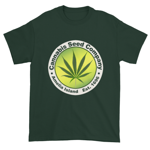 Cannabis Seed Company Cotton T-Shirt Forest