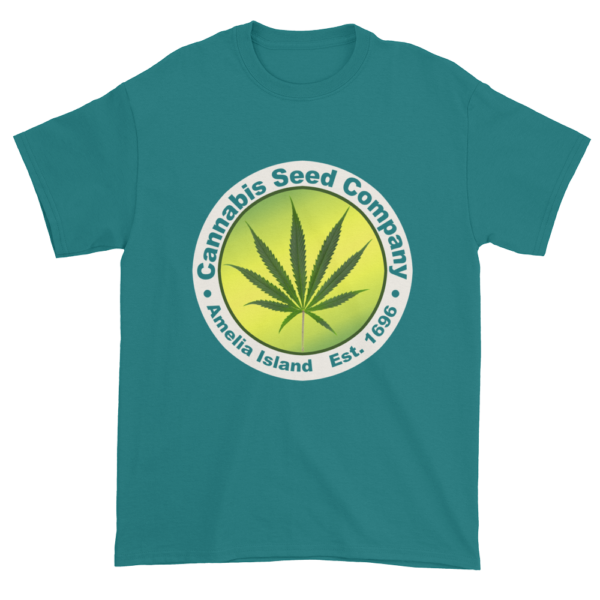 Cannabis Seed Company Cotton T-Shirt Jade-Dome