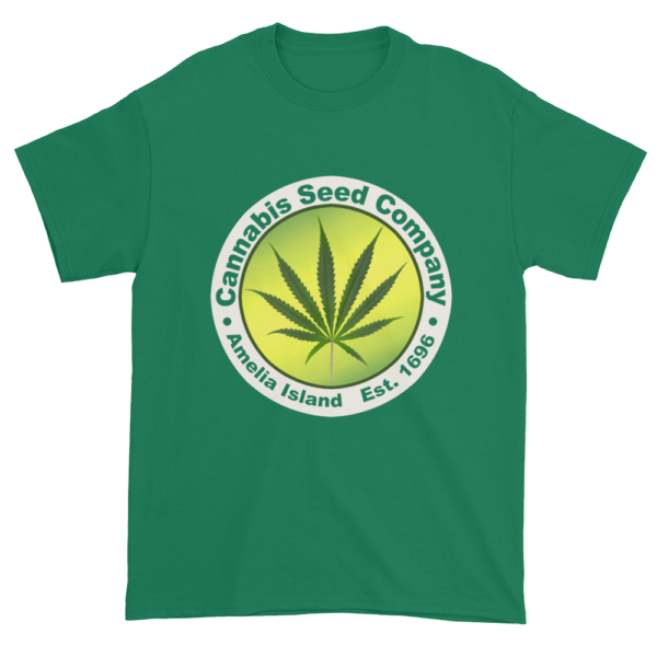 Cannabis Seed Company Cotton T-Shirt Kelly