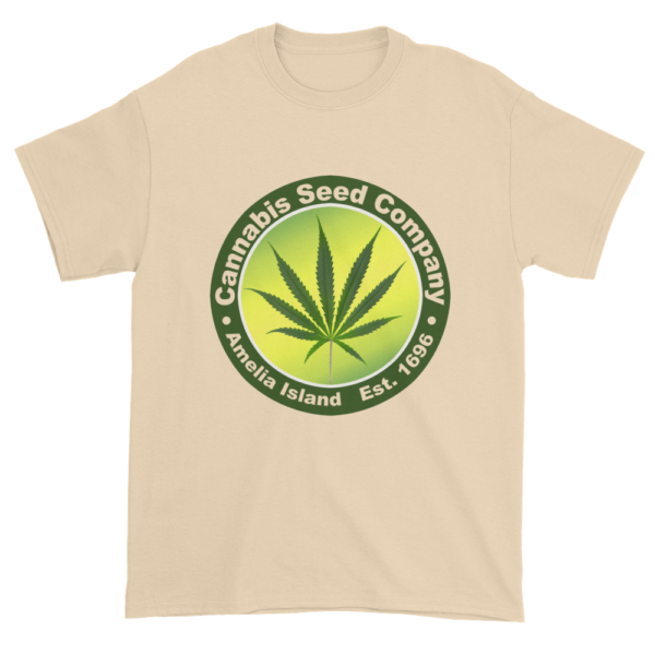 Cannabis Seed Company Cotton T-Shirt Natural
