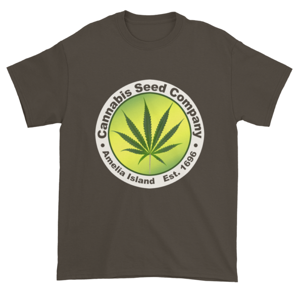 Cannabis Seed Company Cotton T-Shirt Olive
