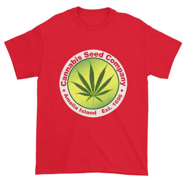 Cannabis Seed Company Cotton T-Shirt Red