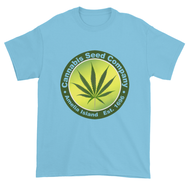 Cannabis Seed Company Cotton T-Shirt Sky