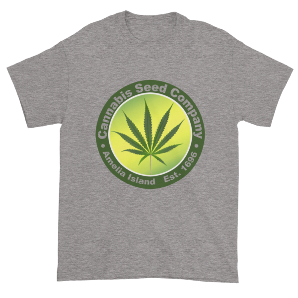 Cannabis Seed Company Cotton T-Shirt Sport-Grey