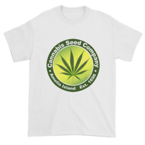 Cannabis Seed Company Cotton T-Shirt White