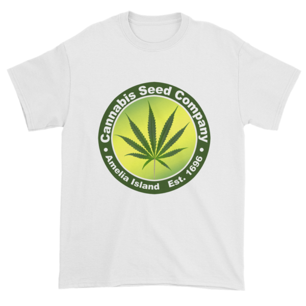 Cannabis Seed Company Cotton T-Shirt White