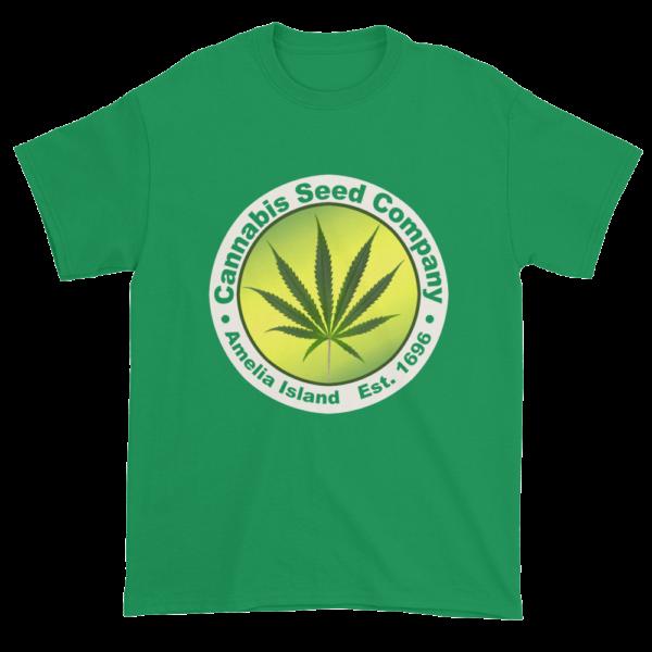 Cannabis Seed Company Cotton T-Shirt Galapagos-Blue
