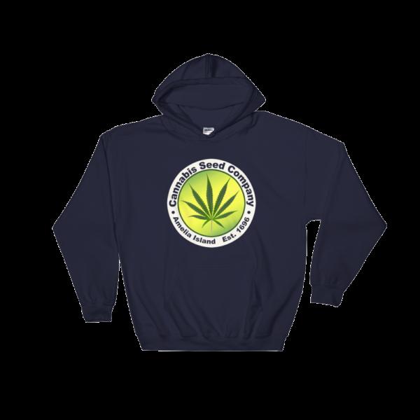 Cannabis Seed Company Hoodie Navy