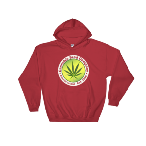 Cannabis Seed Company Hoodie Red