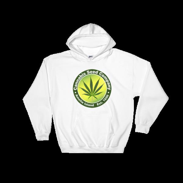Cannabis Seed Company Hoodie White