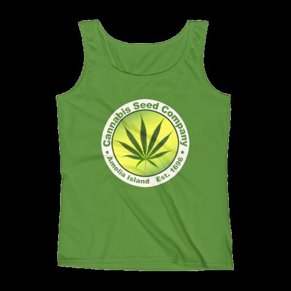 Cannabis Seed Company Missy Tank-Top Green-Apple