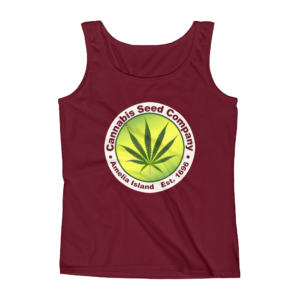 Cannabis Seed Company Missy Tank-Top Independence-Red