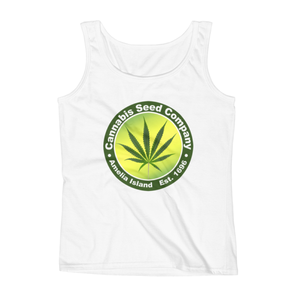 Cannabis Seed Company Missy Tank-Top White