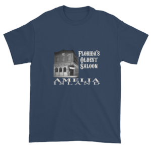 Florida's Oldest Saloon Ultra Cotton T-Shirt Blue-Dusk