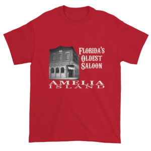 Florida's Oldest Saloon Ultra Cotton T-Shirt Cherry-Red
