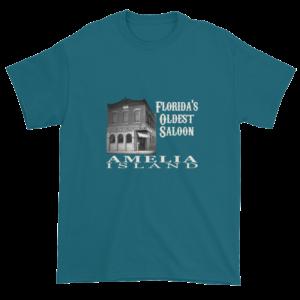 Florida's Oldest Saloon Ultra Cotton T-Shirt Galapagos-Blue